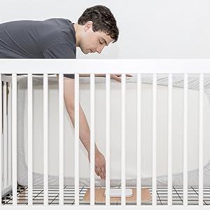Angelcare AC527 breathing baby monitor movement alarm sensor pad détecteur mouvements respiratoires