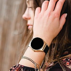 smart watch mit schrittzähler smart uhr damen fit watch smartwatch android fitness smart watch