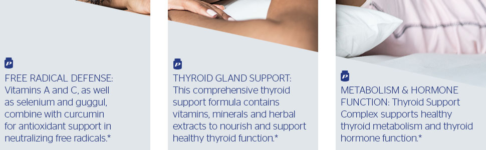 Amazon Com Pure Encapsulations Thyroid Support Complex
