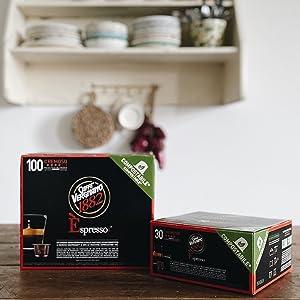caffè vergnano capsule compostabili compatibili nespresso cremoso