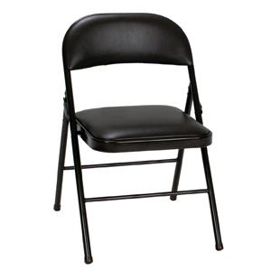Superbe COSCO Steel Folding Chair With Vinyl Seat And Back