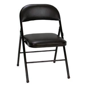 Astounding Cosco All Steel Folding Chair Antique Linen 4 Pack Creativecarmelina Interior Chair Design Creativecarmelinacom