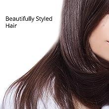 Beautifully Styled Hair