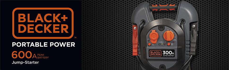Jump Starter 300AMP 300W ATX Negro Unidad de Fuente de alimentaci/ón