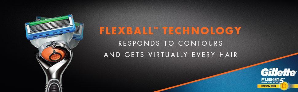 خود تراش ژیلت مدل Fusion 5 Proglide Flexball
