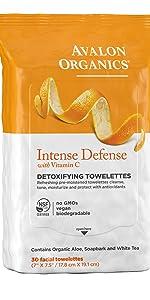 Intense Defense Detoxifying Facial Towelettes