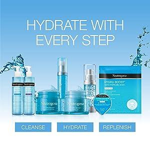 neutrogena hydro boost night concentrate neutrogena water gel neutrogena night concentrate