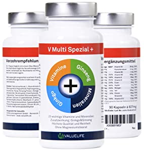 Mutlivitamin multimineral mineralstoffe vitamine