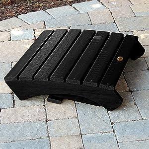 ottoman, folds, store, foldable, maintenance free, sturdy, plastic