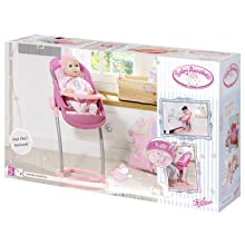 Zapf Creation Baby Annabell High Chair Toy: Amazon.co.uk ...