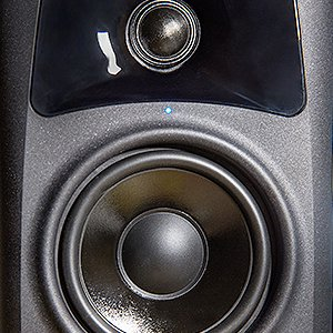 20-Watt Compact Studio Monitor Speakers with 4-inch Woofer