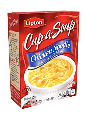Lipton Cup-A-Soup Instant Soup Mix Chicken Noodle with White Meat