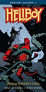 Hellboy Omnibus 1, Seed of Destruction, Hellboy, Volume 1, Mignola, Movie, 25 Year Anniversary