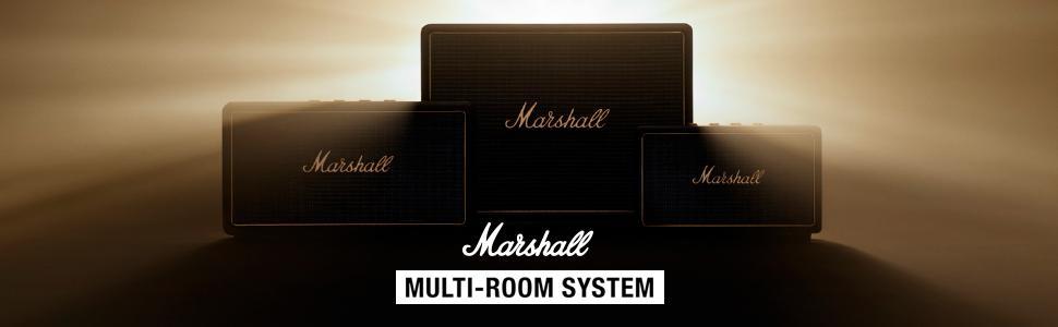Marshall Woburn Altavoz Multi-Room Wi-Fi y Bluetooth - Crema (UK)