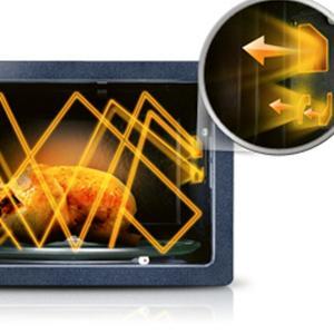 23L Solo Microwave MS23F301TAK, Samsung's innovative Triple Distribution system