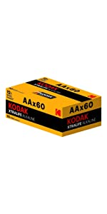 AA 60 pack
