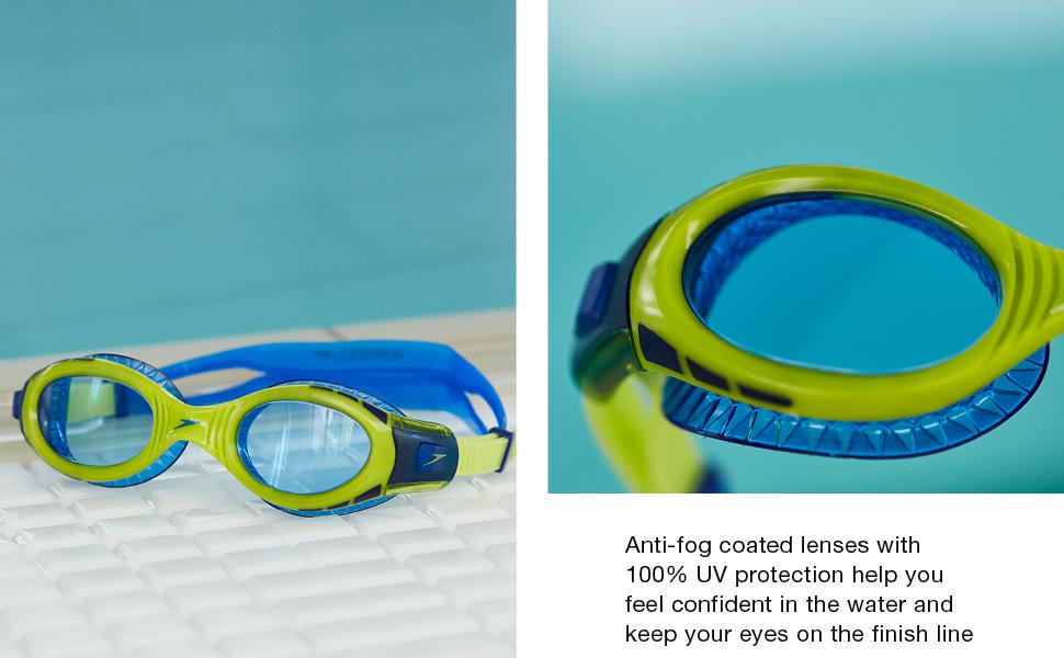 swimming uv goggles flexible goggles comfort