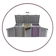 raccolta differenziata, pattumiera, armadio esterno immondizia