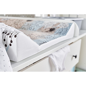 /À Partir de 0 Mois Rotho Babydesign Matelas /à Langer 20062 0001 DC Adorable Motif Crocodile Cheeky Croco