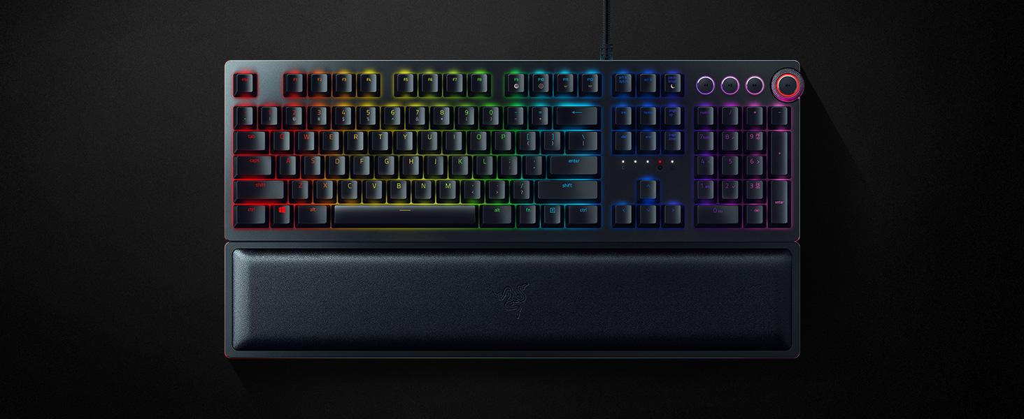 9d53b685567 Razer Huntsman Elite, Gaming Keyboard, Multi Media Keys, Opto ...