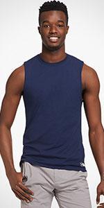 sleeveless, muscle, tshirt