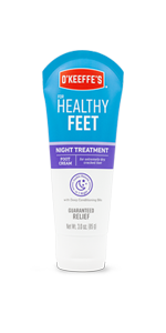 O'Keeffe's Healthy Feet Nigth Treatment foot cream      lotion mask squeeze tube