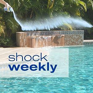 pool shock, pool chlorine