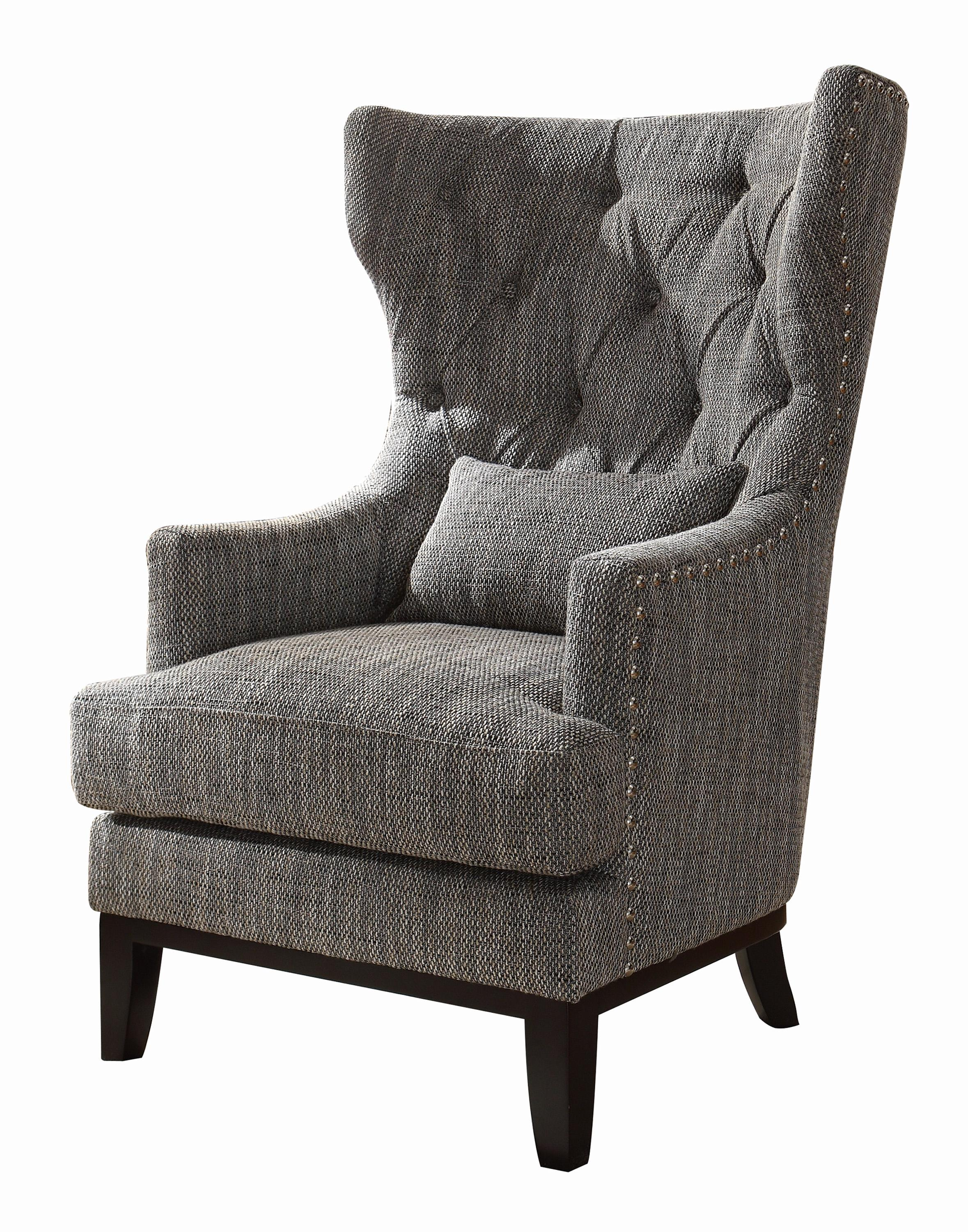 Amazon Homelegance 1217F1S Accent Chair with Kidney Pillow
