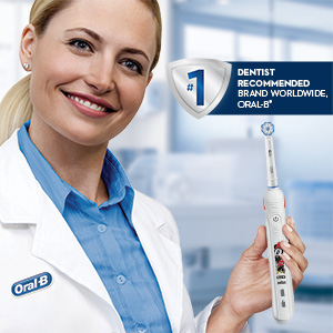 Oral-B Junior Smart Electric Toothbrush Minnie theme power brush #1 dentist recommended brand