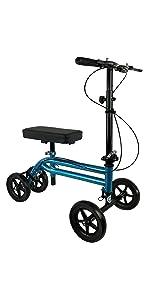 KneeRover Economy Knee Scooter in Metallic Blue