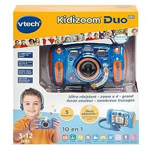 vtech 507155 kidizoom duo 5 0 rose jeux et jouets. Black Bedroom Furniture Sets. Home Design Ideas