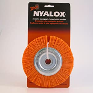 Dico 541-745-5 Nyalox Bench Brush 5-Inch Grey 80 Grit