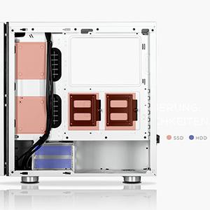 Corsair Carbide Series SPEC-06 RGB - Chasis micro-ATX (panel de cristal templado, iluminación RGB) (CC-9011146-WW): Amazon.es: Informática