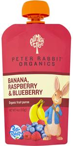 Banana, Raspberry, amp; Blueberry