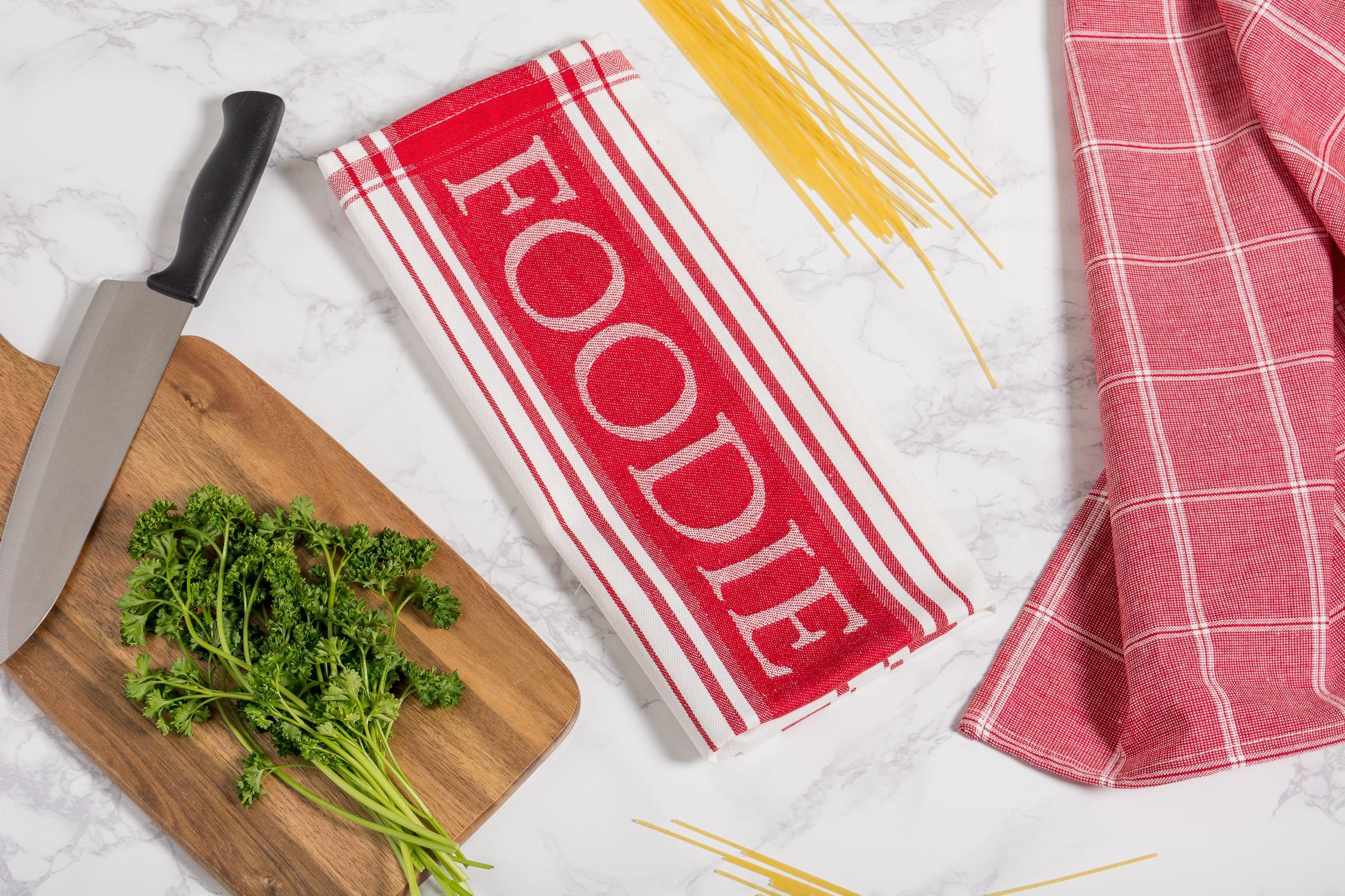 Amazon.com: DII Cotton Gourmet Stripe Dish Towels, 18 x 28 Set of 3 ...