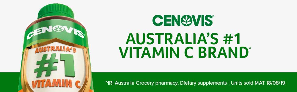 Cenovis; Australia's number 1 Vitamin C; Vitamin C tablets; Vitamin C supplements