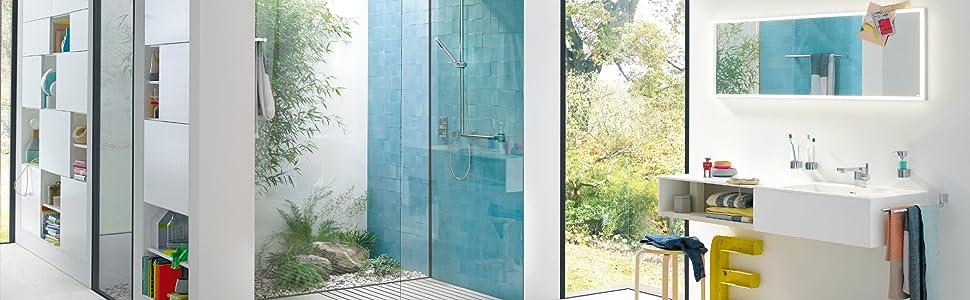 Polo serie accessoires toiletborstel set dubbele haak handdoekhouder zeepdispenser glashouder