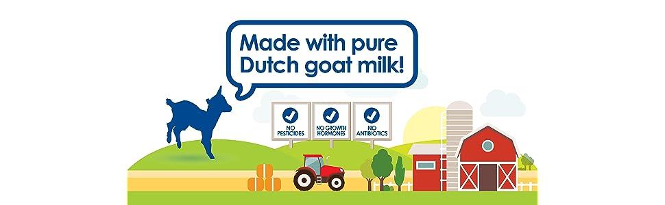 Goat Milk Formula Gentle Nutritious Sensitive Baby Toddler Food Picky-Eater Natural Digestion