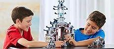 Ninjago Movie, LEGO, building, ninja, creative play, role play, Temple, minifigures