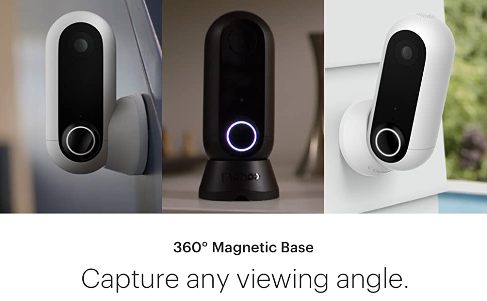 canary flex indoor outdoor night vision security camera