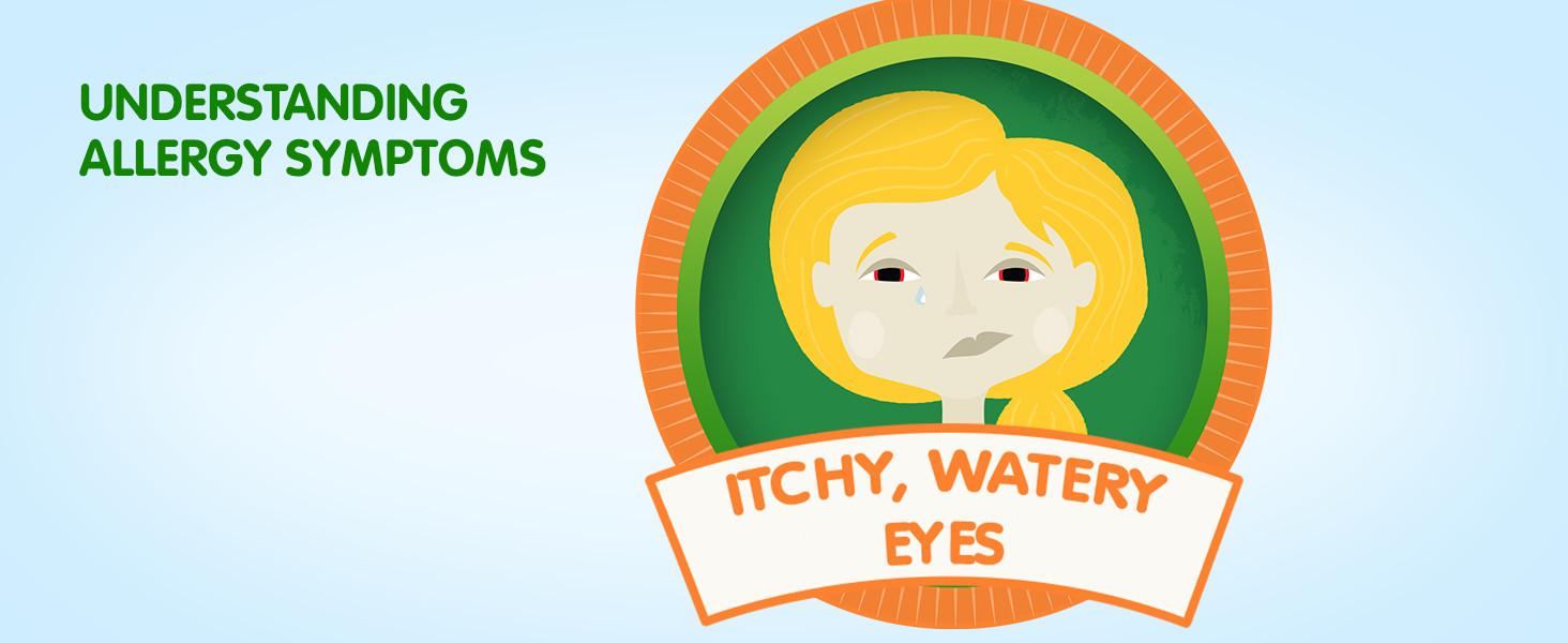 itchy eyes