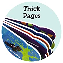 thick sturdy pages