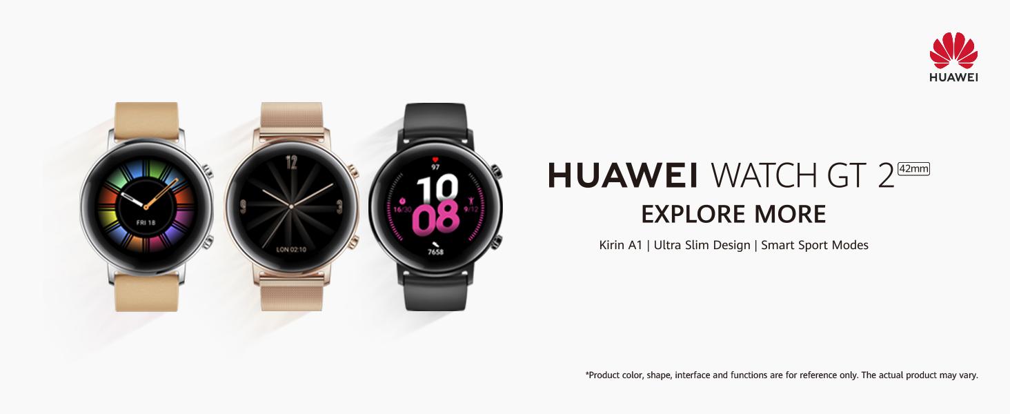 Huawei Watch GT 2 Sport - Smartwatch con Caja de 42 mm