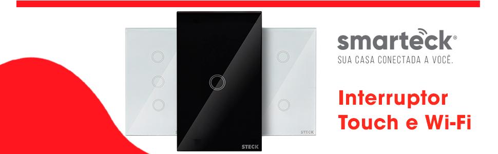 Interruptor Touch e Wifi Smarteck