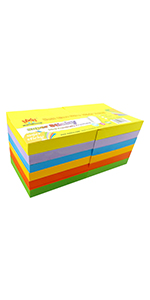 Paper Products 4a Super Sticky Notes Divider Tab White Paper Lined Total 300 Sheets 4a 40607