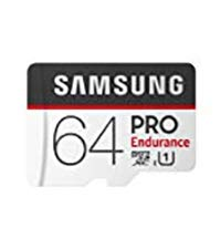 Samsung 64GB MicroSDHC PRO Endurance Memory Card w/ Adapter