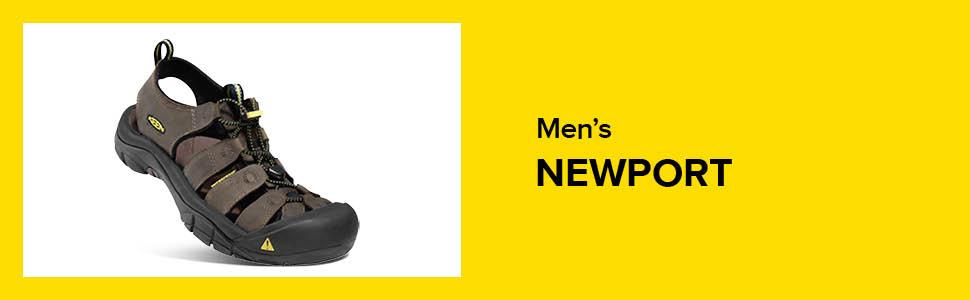 mens newport closed toe water sandal original hero