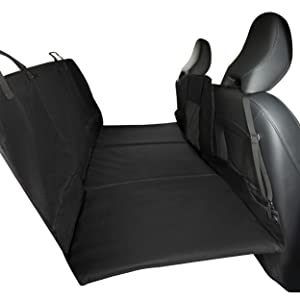 furhaven; product; barrier; car seat; protector; cover; black
