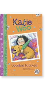 katie woo pet dog goodbye asian american diverse chinese children glasses diversity bossy inclusive