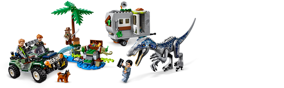Au Trésor Jeux Du World L'affrontement De Jurassic Lego® BaryonyxLa Construction75935Multicolore Chasse oCxdBe